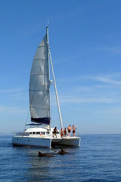 Marbella and Estepona catamaran charters for groups