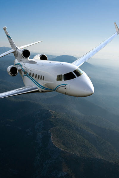 Worldwide private jet and helicopter charters
